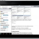 Docstore on iPad 2